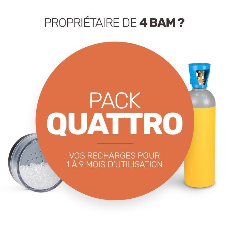 Pack de recharge de consommables pour vos quatre BAM - Pack Quattro