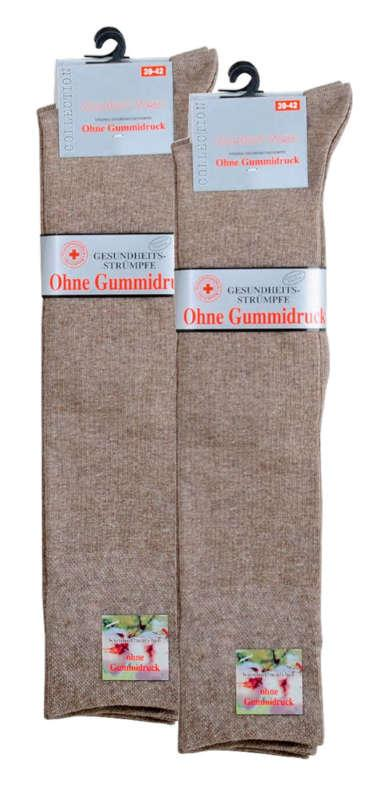 6462 - Knee Health Socks - With wide piqué cuffs: offer best possible fit without any gum. No constriction!
