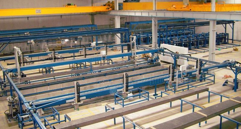 Production line - Ultrasonic welding machines