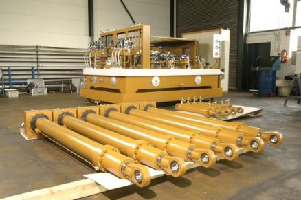 SYSTEM SOLUTIONS FOR HYDRAULIC UNITS - WINTER developed special highly adapted and energy-optimized hydraulic systems