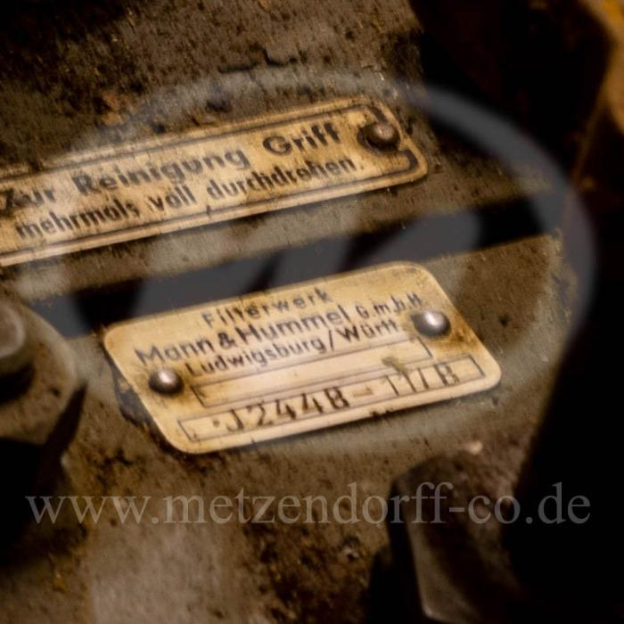 Schmierölfilter - für MERCEDES BENZ 820, MERCEDES BENZ: 000 184 3301, MERCEDES BENZ: 0001843301