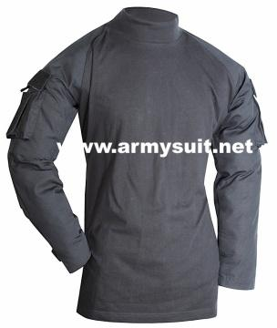 tactical combat shirt black - PH-CS10426BK