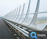 Noise barriers - Tecnowall clear panels