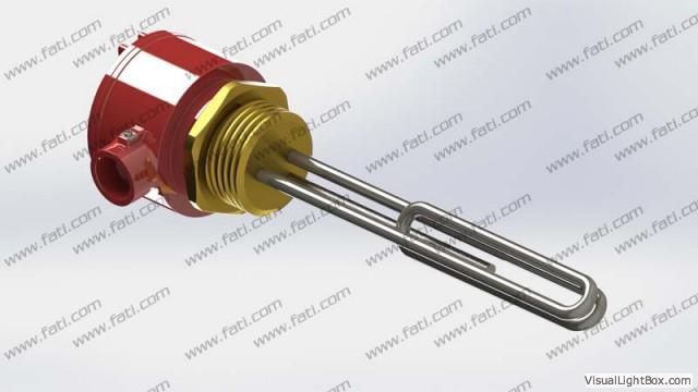 Threaded Heaters  - ATEX / IECEx Ex d