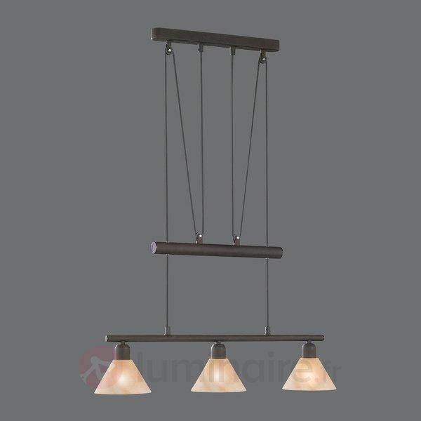 suspension hauteur r glable zug suspensions rustiques luminaire fr allemagne. Black Bedroom Furniture Sets. Home Design Ideas