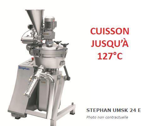 Mélangeur cuiseur cutter vapeur réduction chocolat ganache - STEPHAN UMSK24