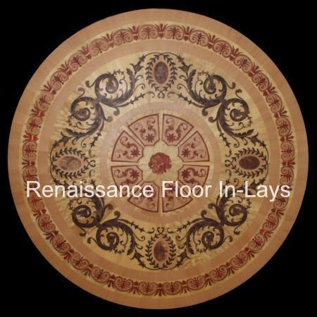 rozeta podłoga drewniana do salonu