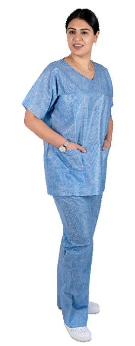 DISPOSABLE COLTHING SET - for medical professionals in hospitals and clinics