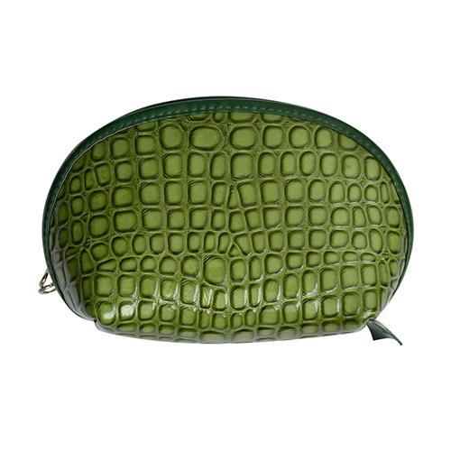 Переносные мешочки для макияжа для крокодиловой кожи