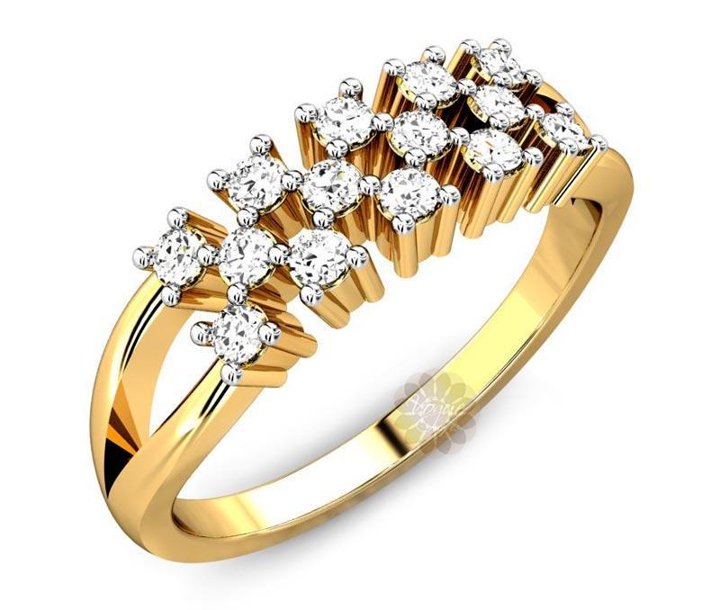 Diamond Wedding Ring -