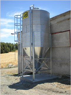 air Silos - for warehousing and storage of grains since 1971