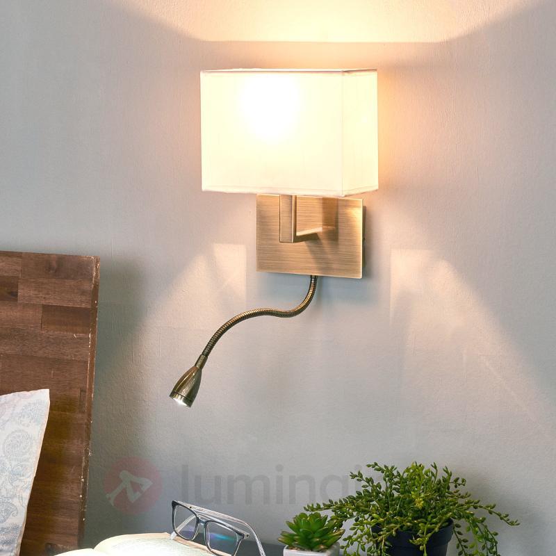 Applique formidable DARIO à LED - Appliques en laiton/dorées