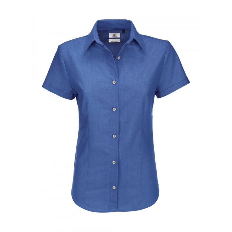 Chemise manches courtes Oxford - Femme