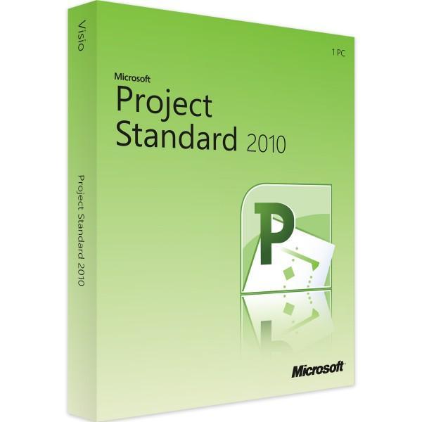 Microsoft Project Standard 2010