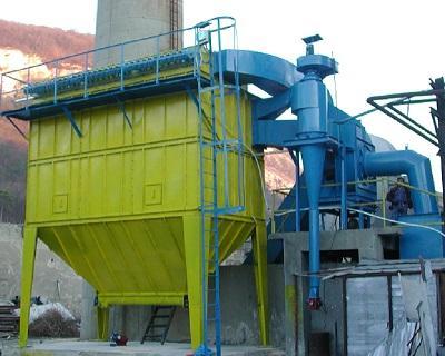 Filtri a maniche autopulenti - Depolverazione industriale a manica per linee ed impianti di produzione