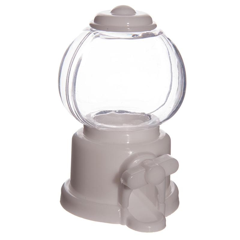 Candy Distributor small - white candy distributor small in plastic