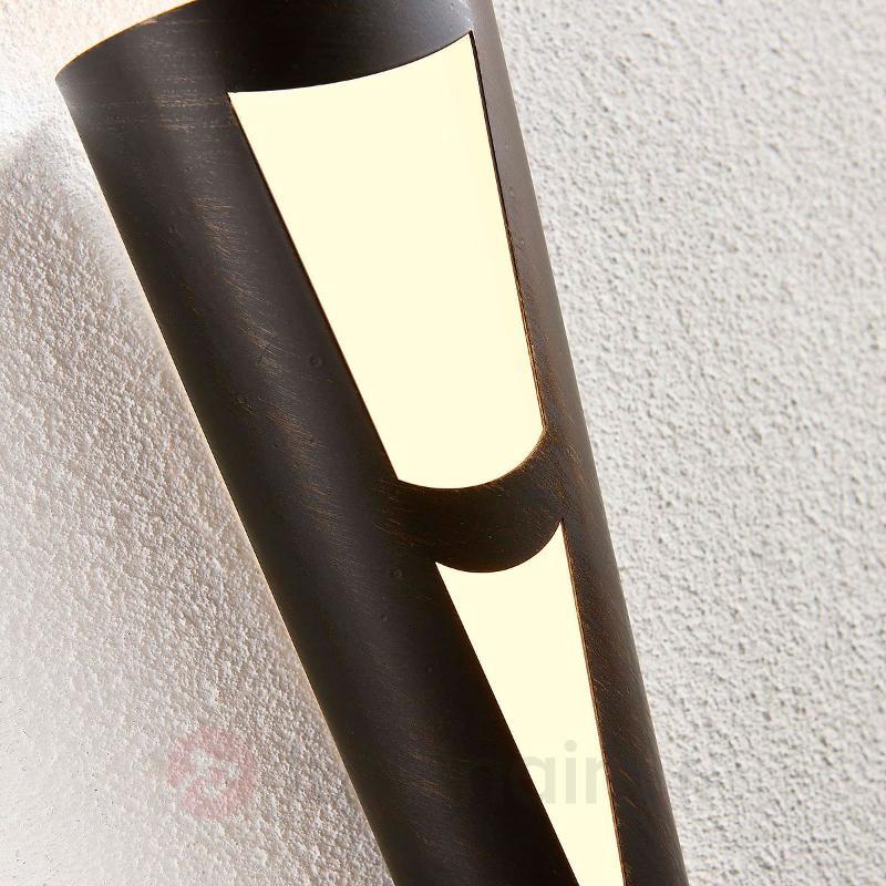Torche murale LED Germo en noir - Appliques LED