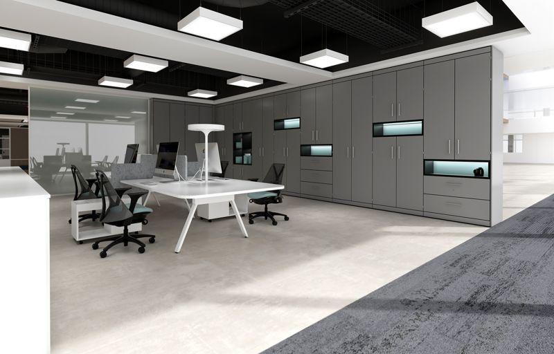 Office storage - Modular Storage Wall System