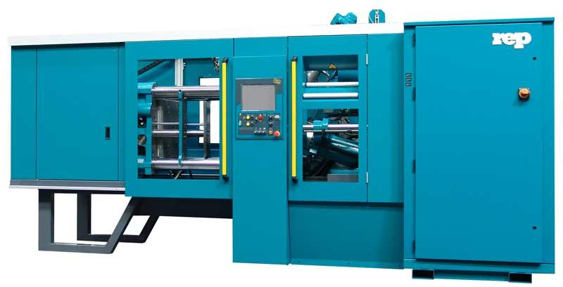 Horizontal Rubber Injection Molding Machines REP  - Horizontal range - H49, H59, H610