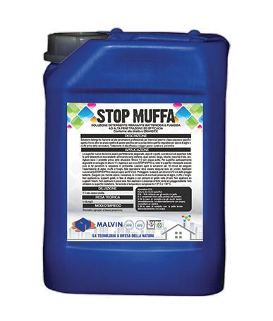 STOP MUFFA Soluzione detergente risanante  - Conforme alla direttiva 2004/42/CE