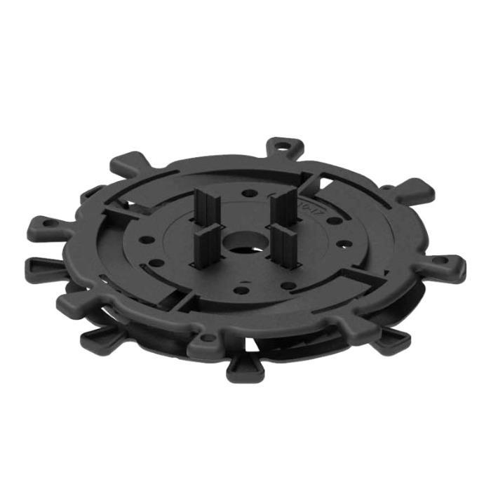 Spiral vloerdragers 10-50mm - Verstelbare vloerdragers voor kleine hoogtes