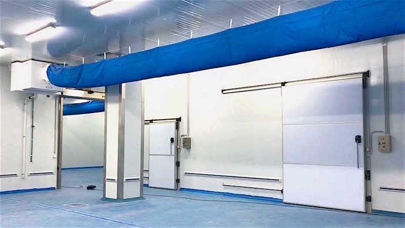 Salle de travail réfrigerée - Traitement d'air industriel pour les salles de travail pour l'agro-alimentaire
