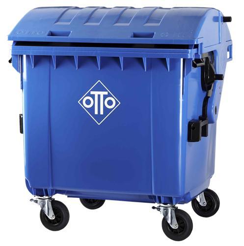 Conteneurs à déchets - Conteneur rond 1100L