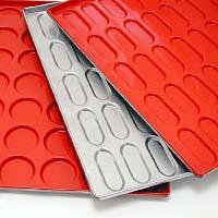 Baguette-, Perforated Trays, Hamburger-, Hot Dog Trays - Range for Baking Tins