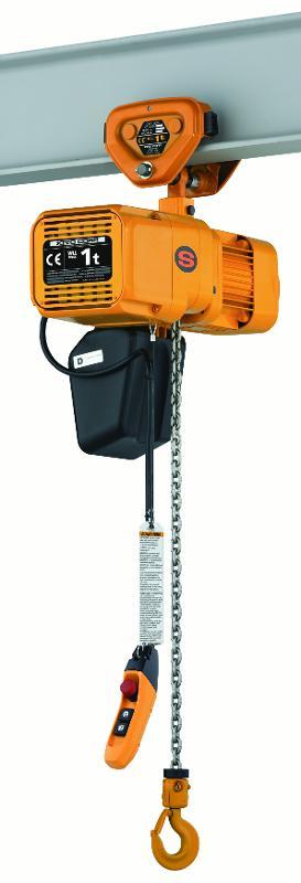 Palans électriques à chaîne - usage intensif - Palan KITO ER2SP (avec chariot à translation libre)