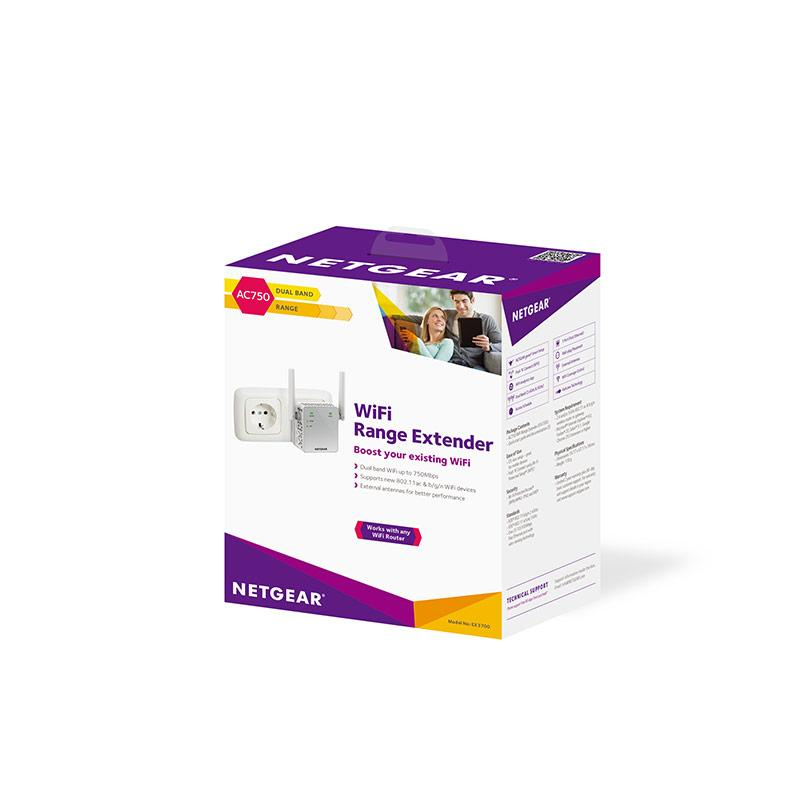Netwerkrandapparatuur van Netgear - Netgear Repeater EX3700