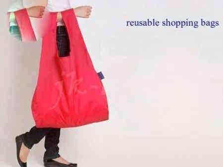 OEM foldable reusable shopping bag - full printing color