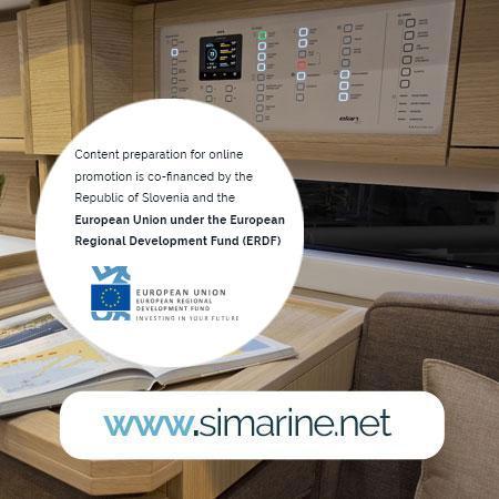SIMARINE NEREIDE - Smart Power Panel with Integrated Battery Monitor