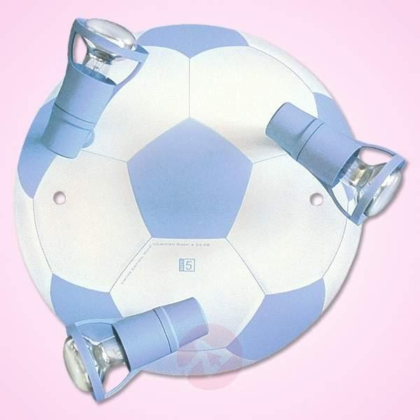 Light blue Football ceiling light with 3 bulbs - Ceiling Lights