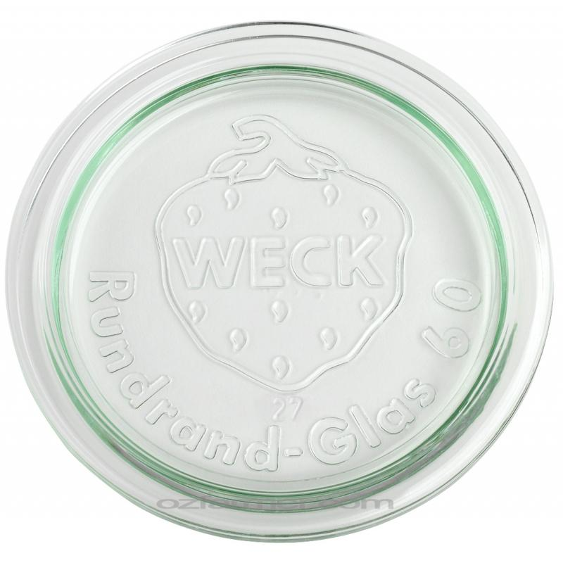 6 glass lids for Weck jars diameter 60 mm - Accessories WECK®