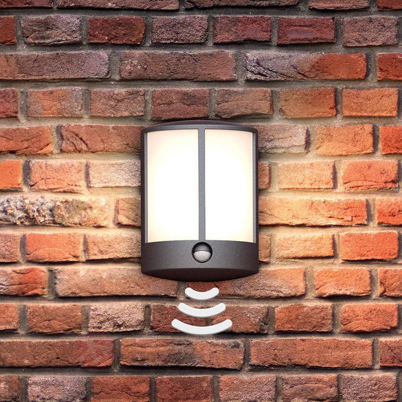 Applique d'extérieur LED Stock avec détecteur - Appliques d'extérieur avec détecteur