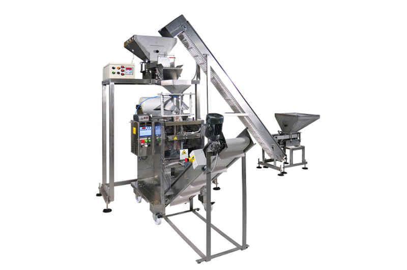 Linea confezionamento automatica verticale per granulari