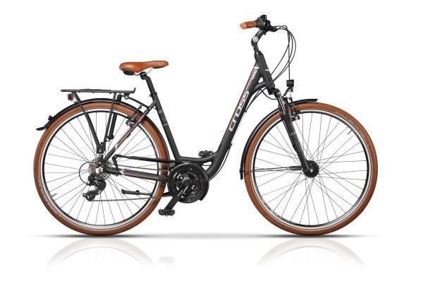 CROSS ARENA LADY – LOW STEP, cuadro en aluminio 6061, 21 velocidades - Cross