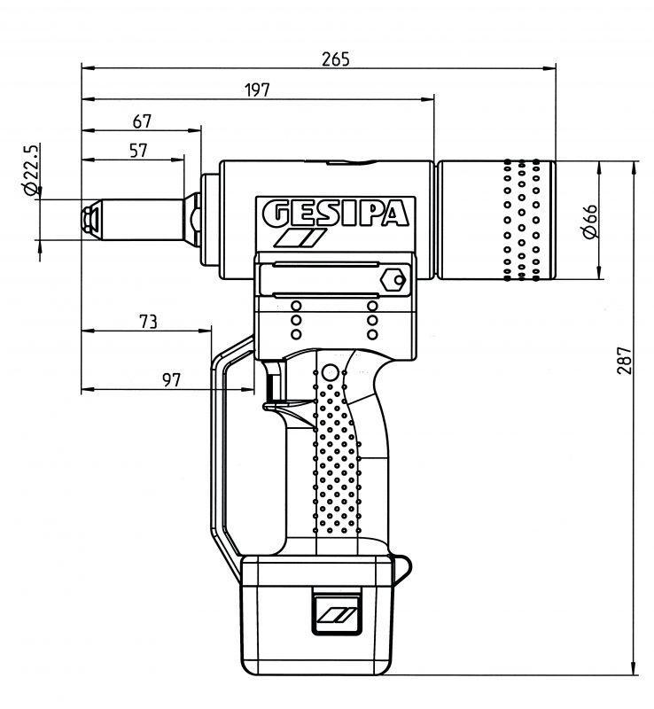 AccuBird® (Outils à batterie pour pose de rivets aveugles) - L'outil à batterie éprouvé pour la pose de rivets aveugles, à l'énergie Li-Ion