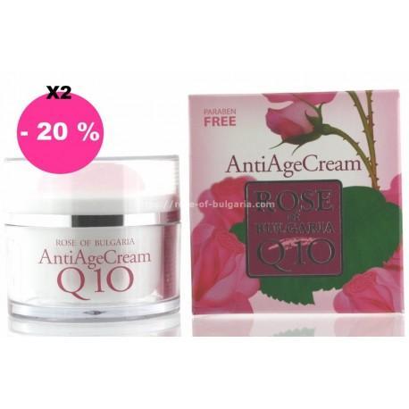 Crème anti age Q10 lot de 2 - Promotions