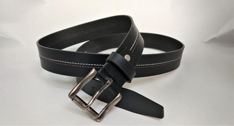 men's belt - Split men's belt