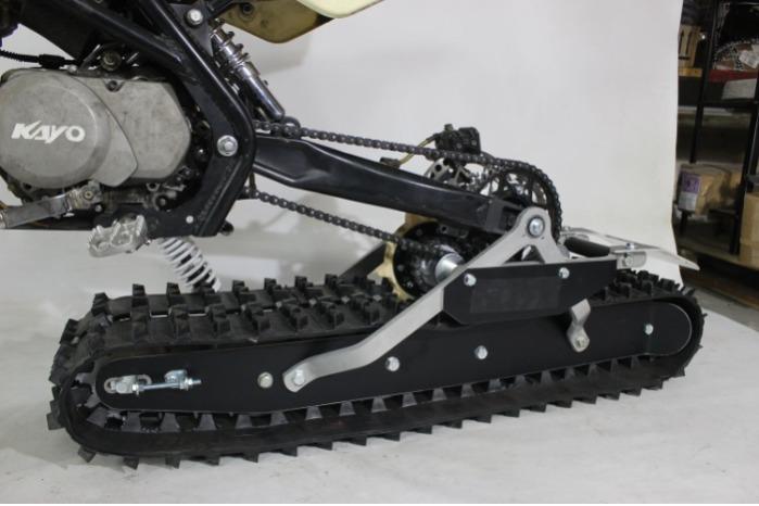 Snowbike KIT Pitbikelle ja sähköpyörälle - Snowbike KIT Pitbikelle ja sähköpyörälle