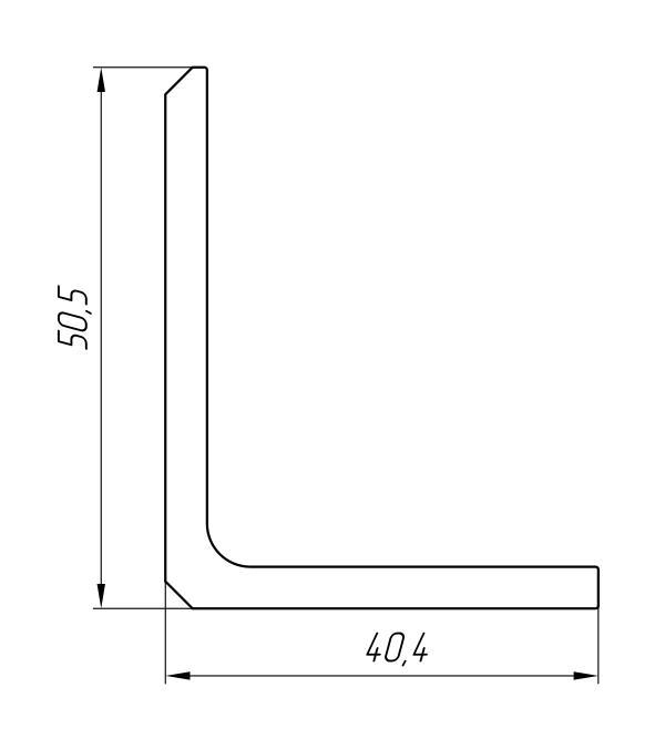 Aluminum Profile For Car And Rail Car Building Ат-2216 - Aluminum profile for mechanical engineering