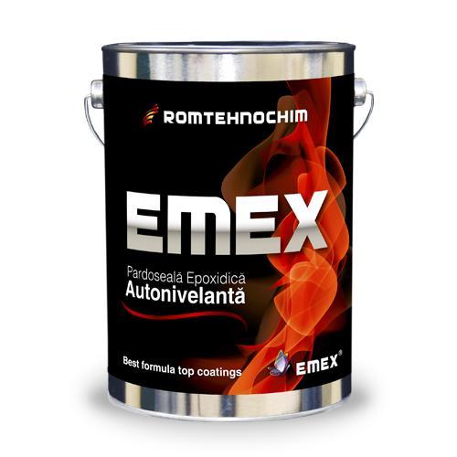 Pardoseala epoxidica autonivelanta bicomponenta - Pardoseala Epoxidica Autonivelanta EMEX