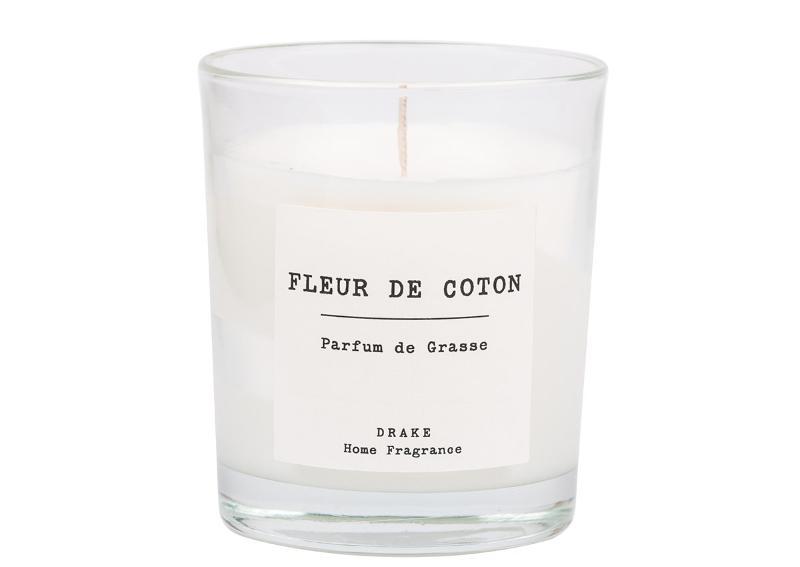 BOUGIE PARFUMÉE - FLEUR DE COTON - Collection Vintage 100% Végétale