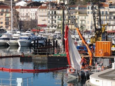 Barrage Pour Travaux Maritimes 25-300-500 - BARC BTM25300500-Barrage filtrant MES anti pollution