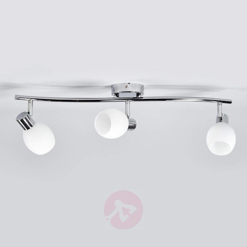 Aidan - G9 LED ceiling light with glass lampshades - Ceiling Lights