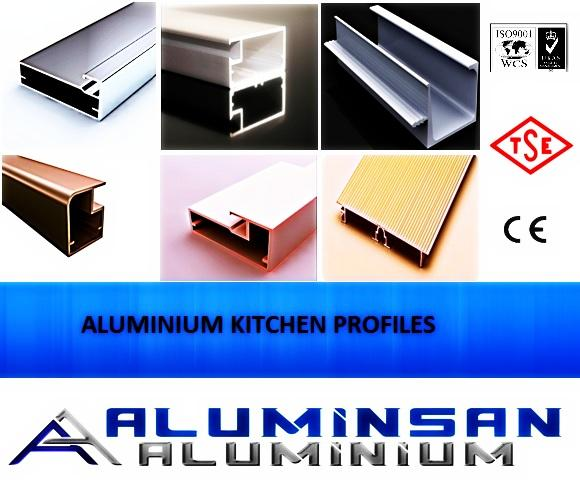 Aluminium Kitchen Profiles - Aluminium
