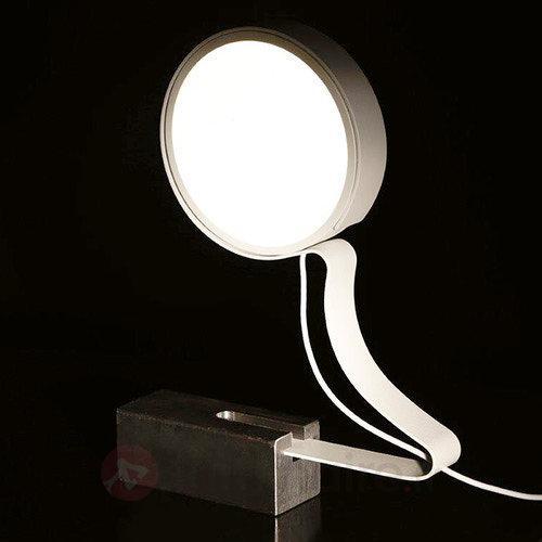 Lampe à poser LED DND Profile blanc - Lampes à poser LED
