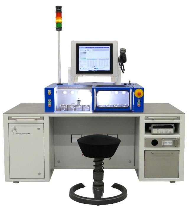 High Precision Sensor Leak Test with Hygienic Design - Testing Valves | Sensons | Ventilators and more