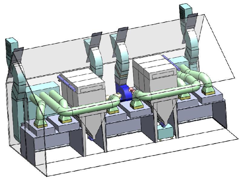 EXEMPLE D'INSTALLATION SUR MESURE - Ventilation - Filtration